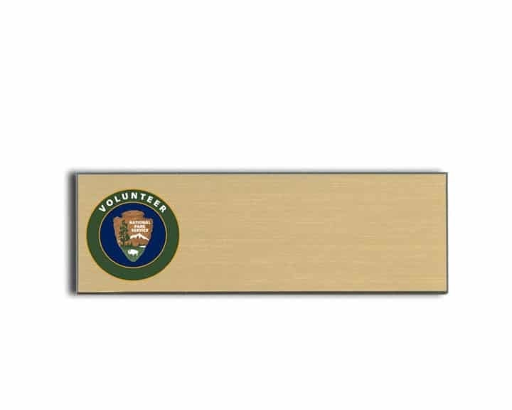 National Park Service name badges