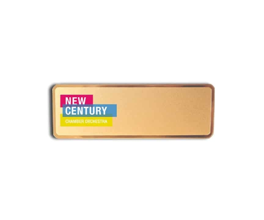 New Century Chamber Orchestra name badges