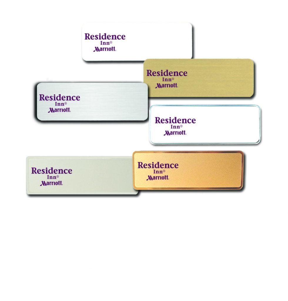 Residence Inn name badges