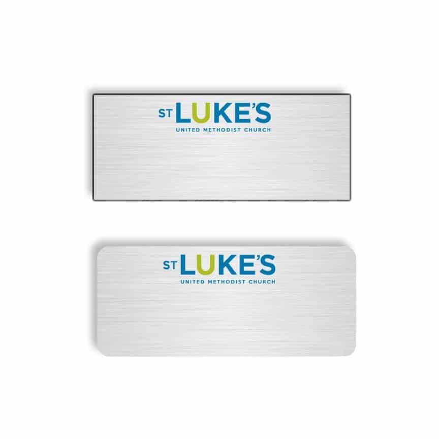 St Lukes name badges