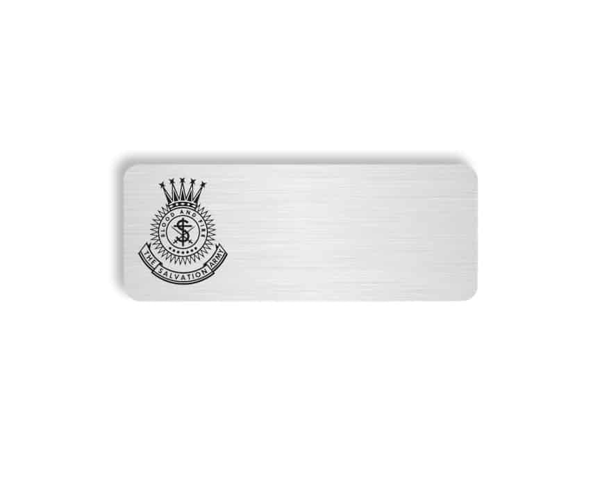 The Salvation Army name badges
