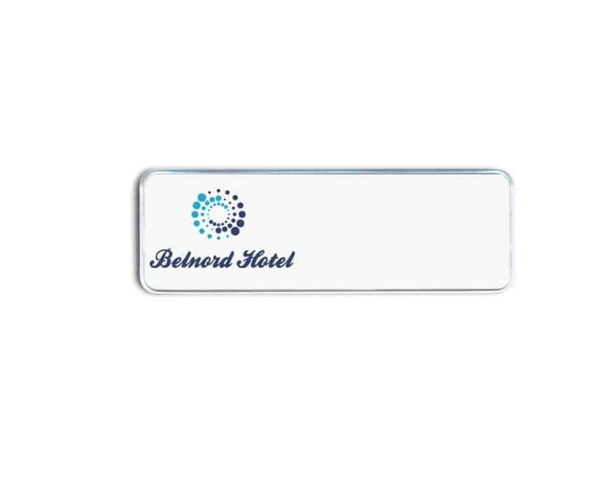 belnord hotel name badges