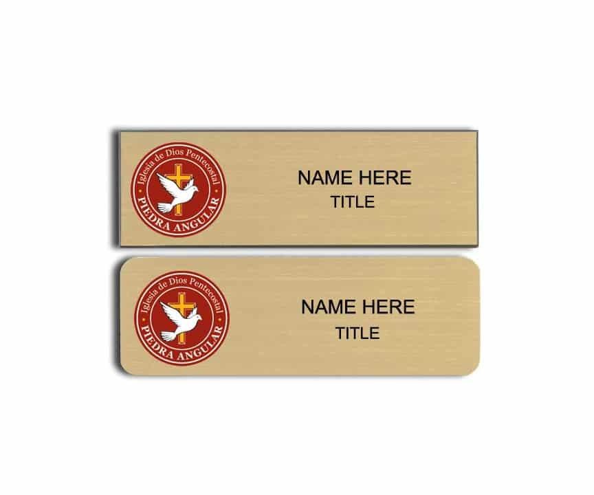 Piedra Angular name badges