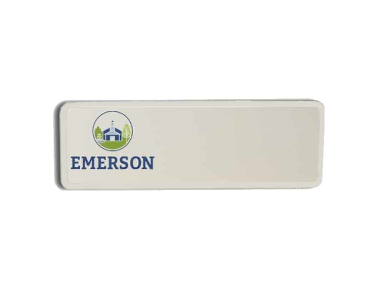 City of Emerson name badges tags