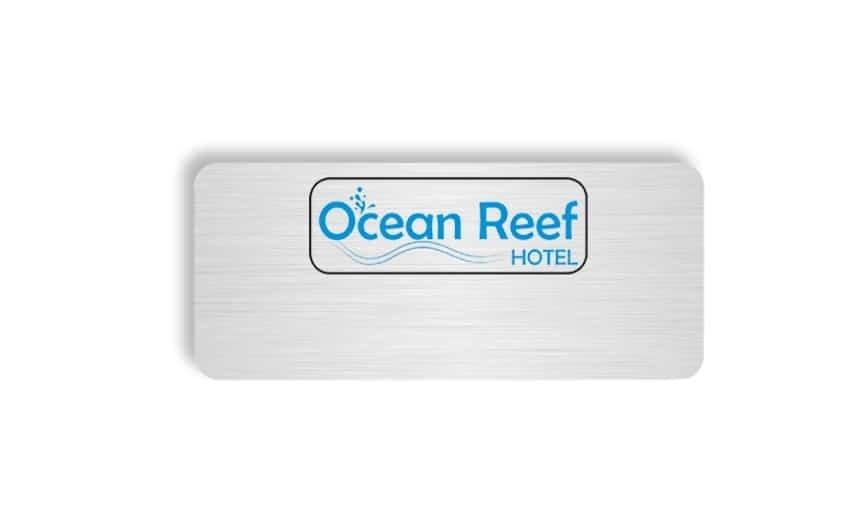 Ocean Reef Hotel name badges tags