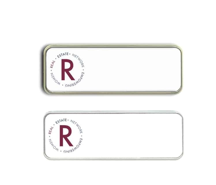 Renew Real Estate name badges tags