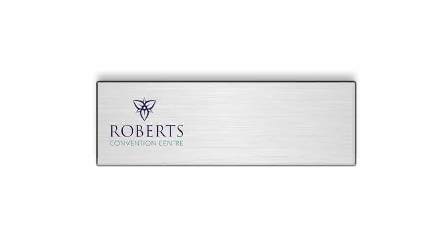 Roberts Convention Centre name badges tags