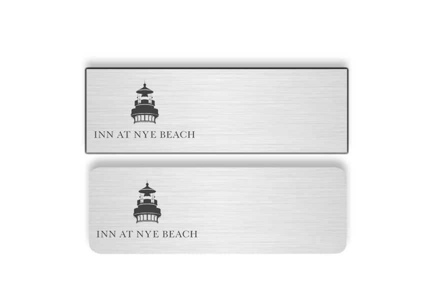 Inn at Nye Beach name badges tags