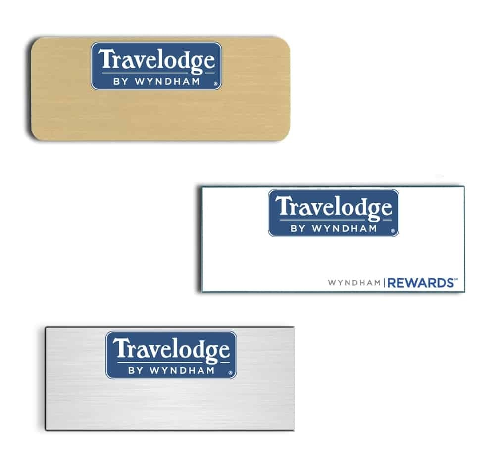 Travelodge-name badges-tags