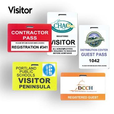 Visitor Badges