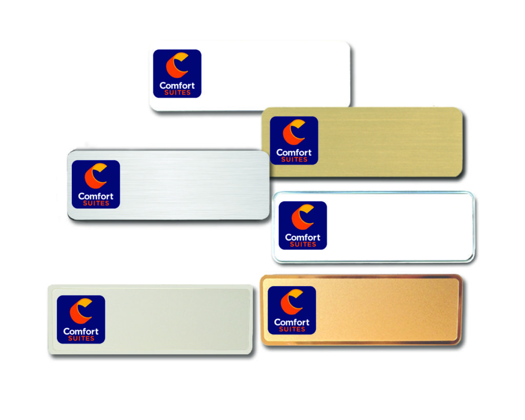 comfort-suites-name-badges-tags