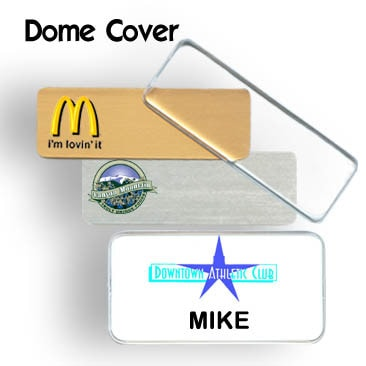 Dome Name Badges