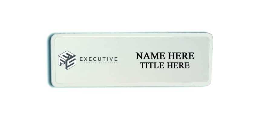 Executive Flooring Solutions name badges