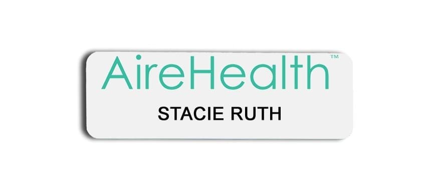 AireHealth Name Badges Tags
