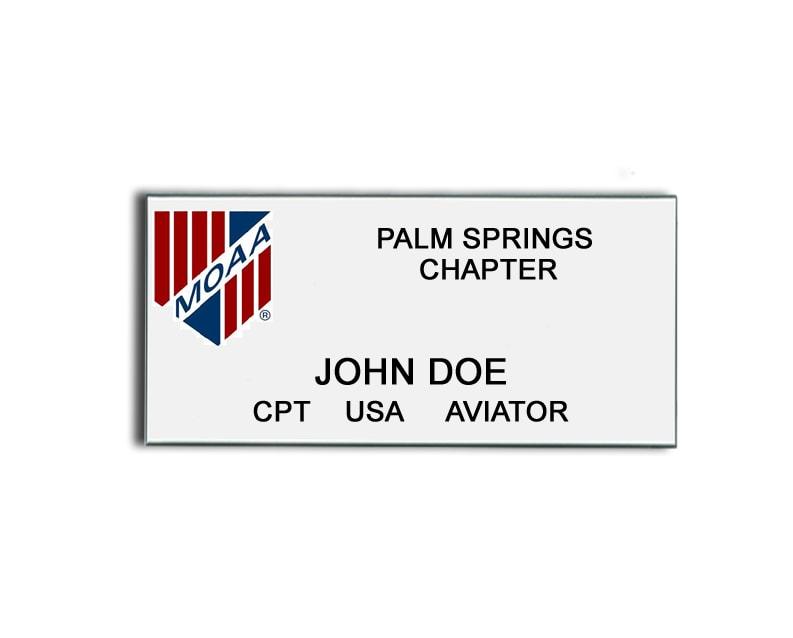MOAA name badges