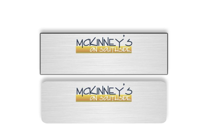 McKinney's on Southside name badges
