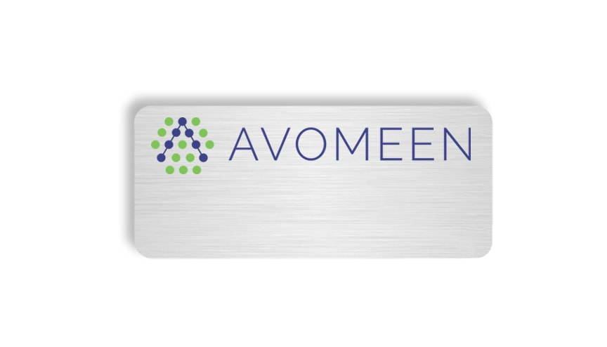 Avomeen name badges tags