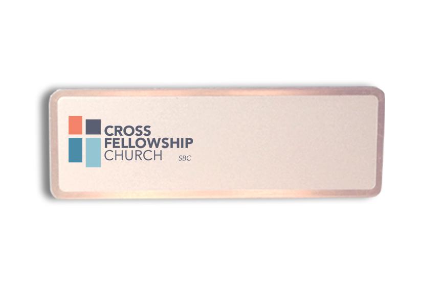 Cross Fellowship Church name badges tags