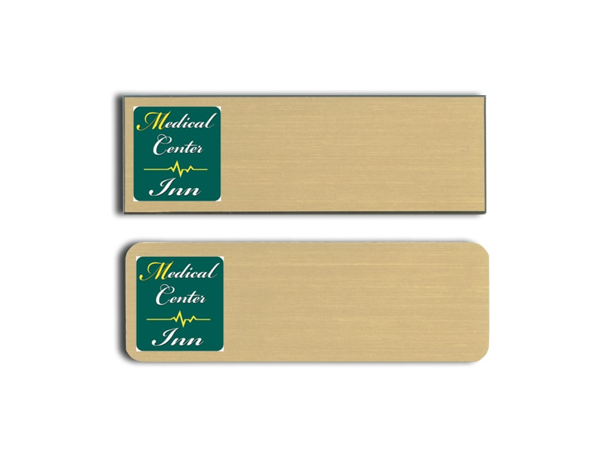 Medical Center Inn name badges