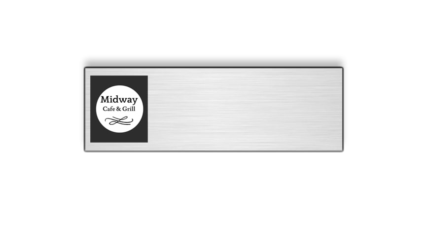 Midway Cafe & Grill name badges tags