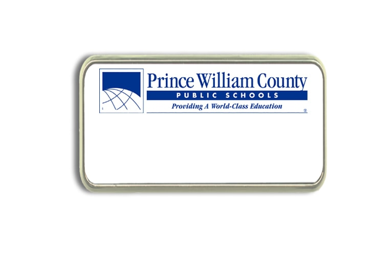 Prince William County Schools Name Badges Tags