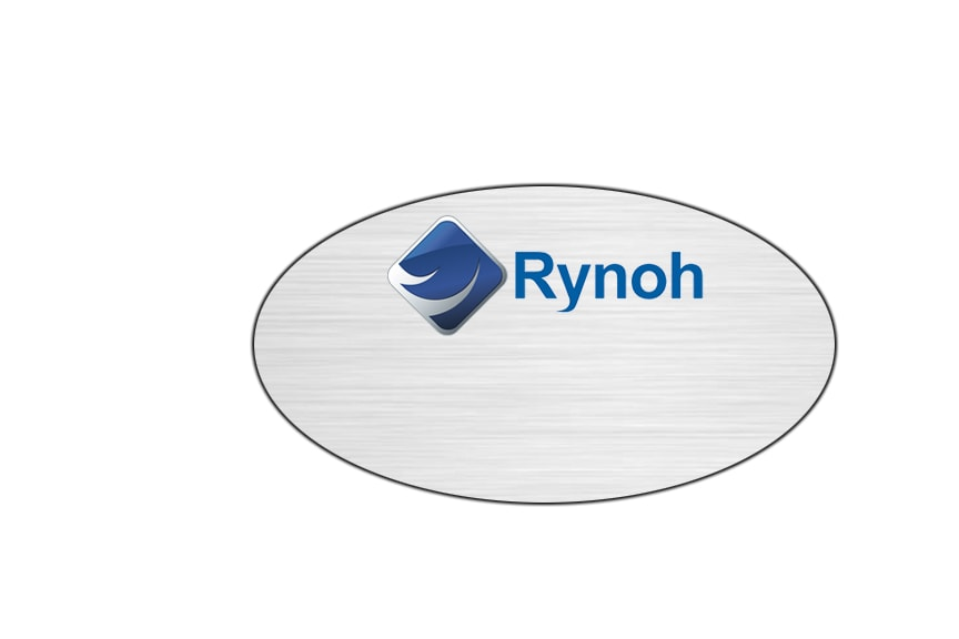 Rynoh Name Badges Tags