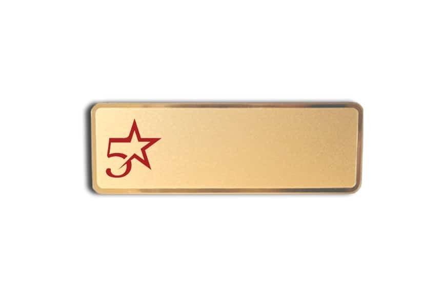 5 Star Staging Name Badges