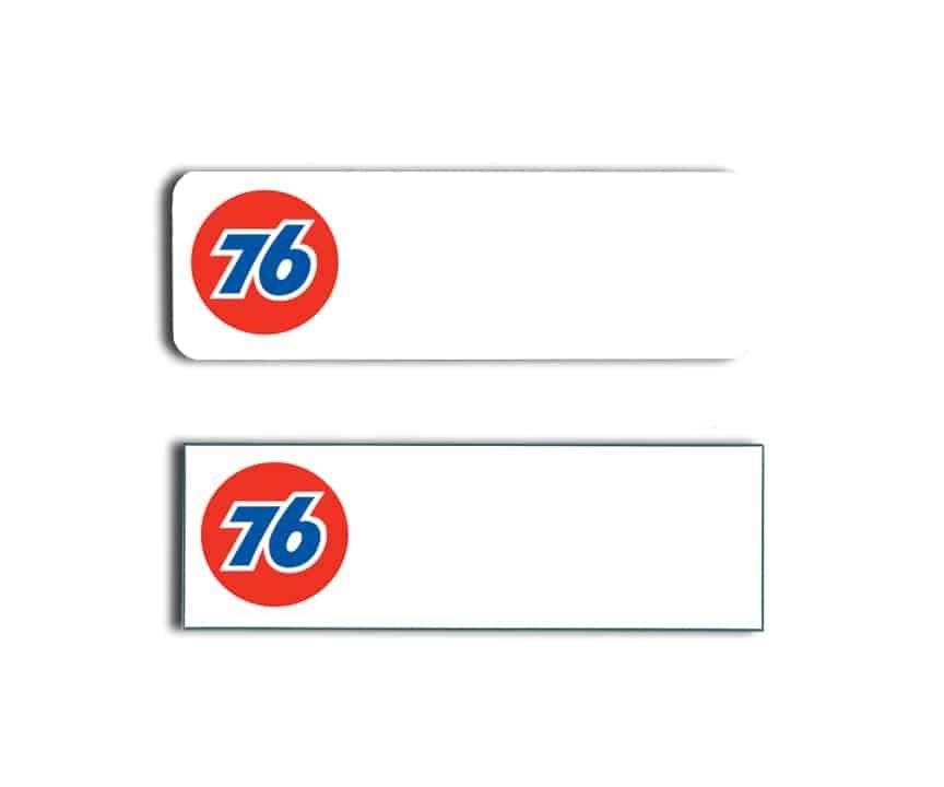 76 Station name badges