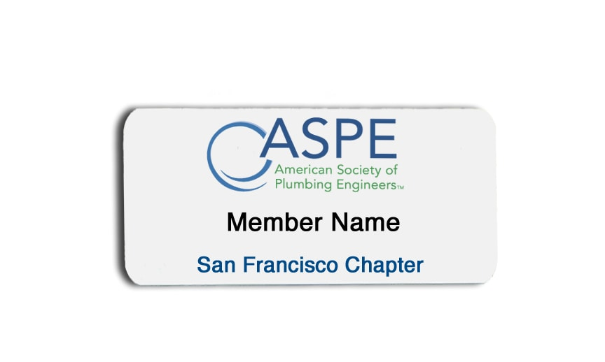 ASPE name badges