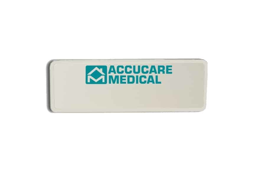 Accucare Medical Name Badges