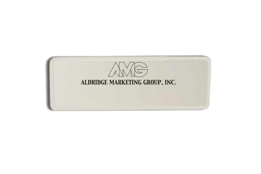 Aldridge Marketing Group Name Badges