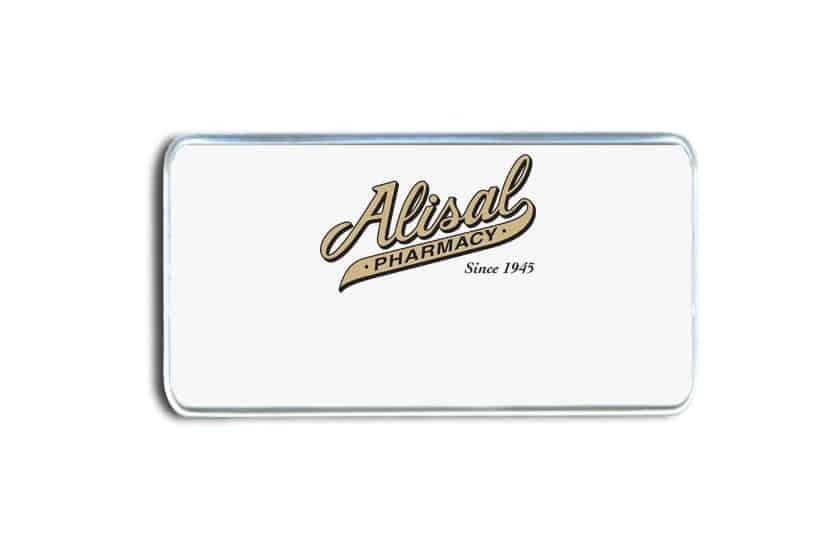 Alisal Pharmacy Name Badges