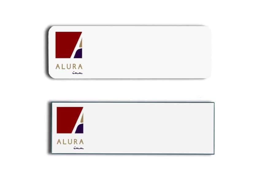Alura Inn Name Tags Badges