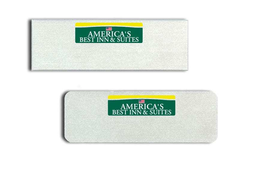 Amercicas Best Inn and Suites Name Tags Badges