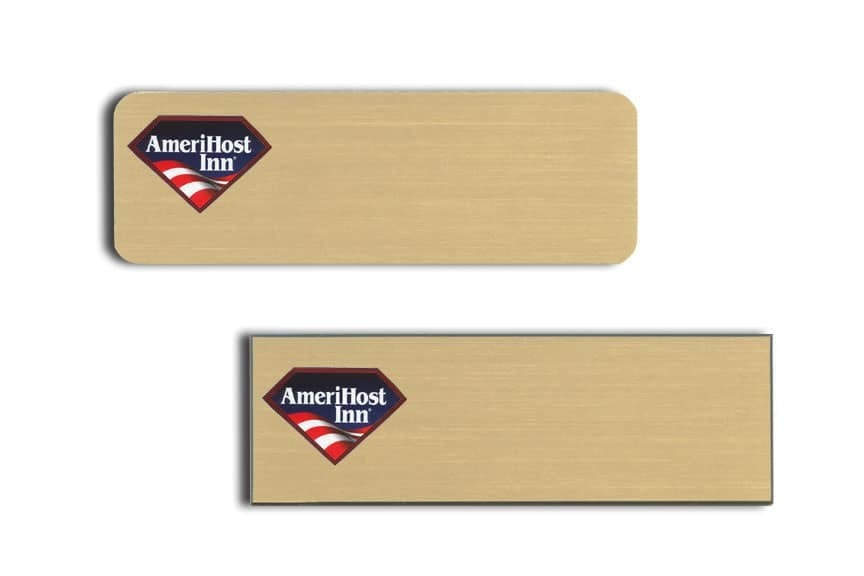 AmeriHost Inn Name Tags Badges
