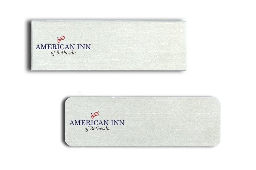 American Inn Bethesda Name Badges