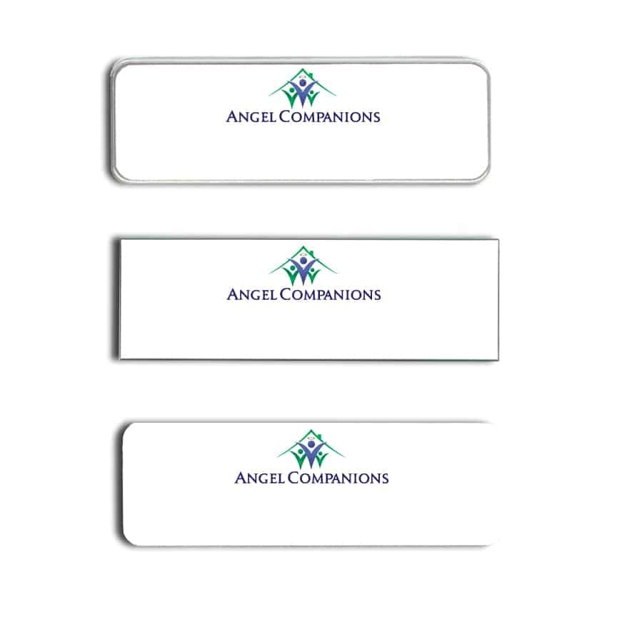 Angel Companions Name Tags Badges