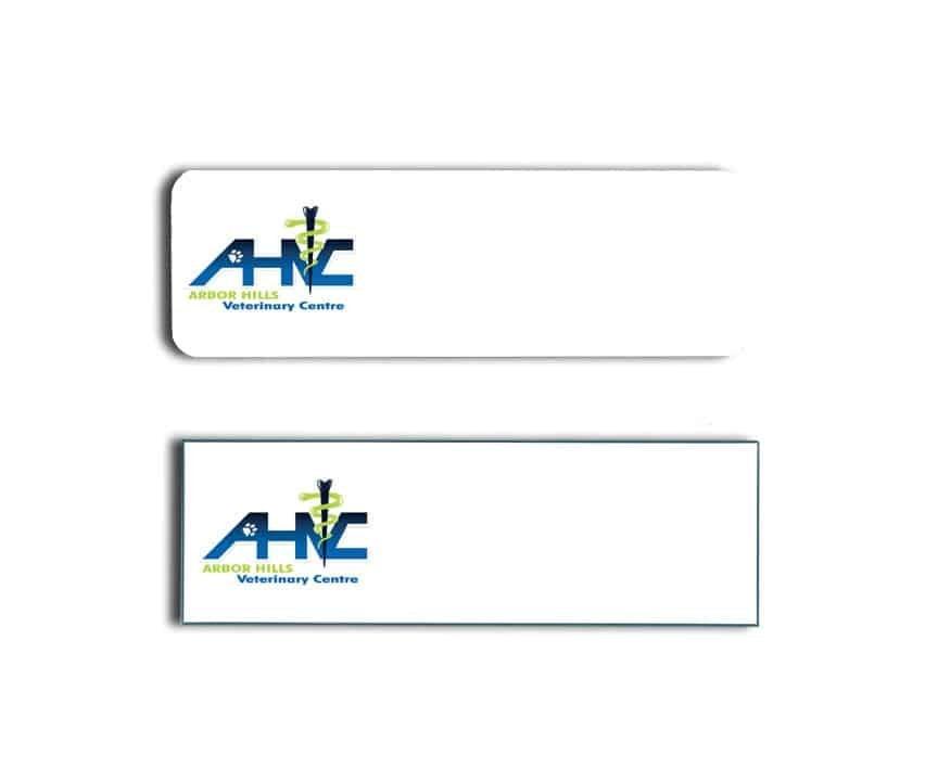 Arbor Hills Vet Centre Name Badges