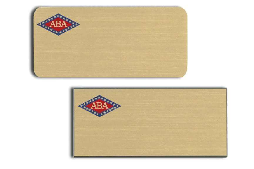 Arkansas Bankers Assc Name Tags Badges