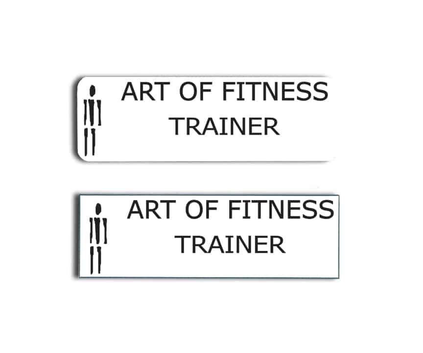 Art of Fitness Name Badges
