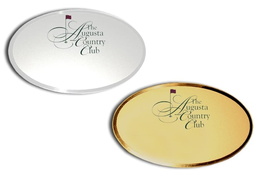 Augusta Country Club Name Badges