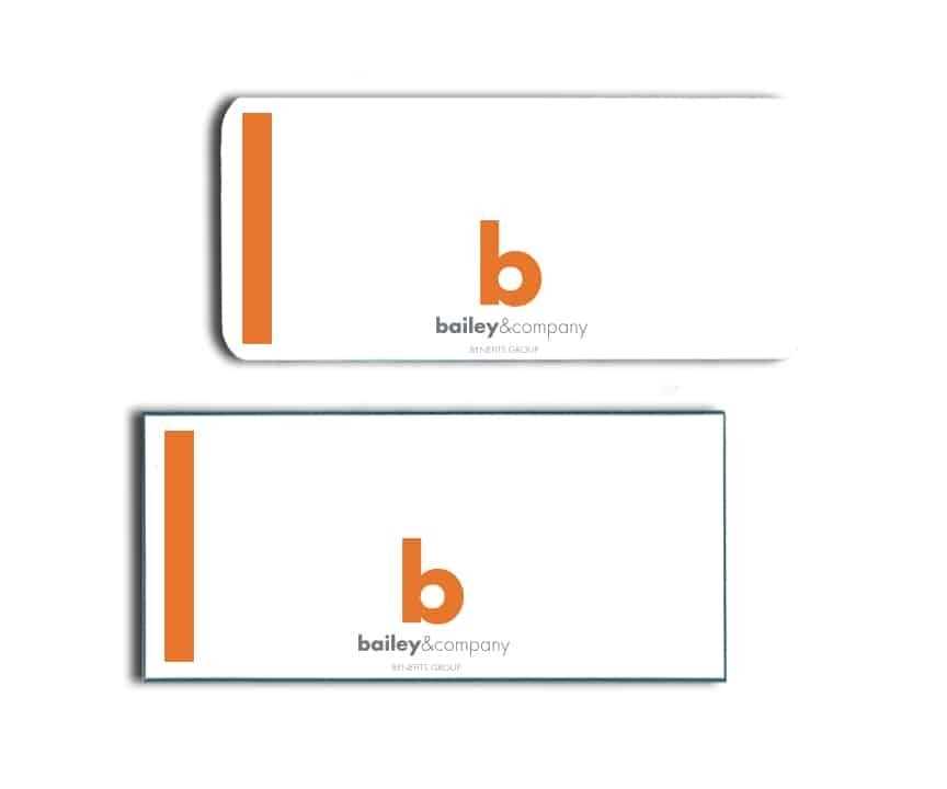 Bailey & Co Name Badges