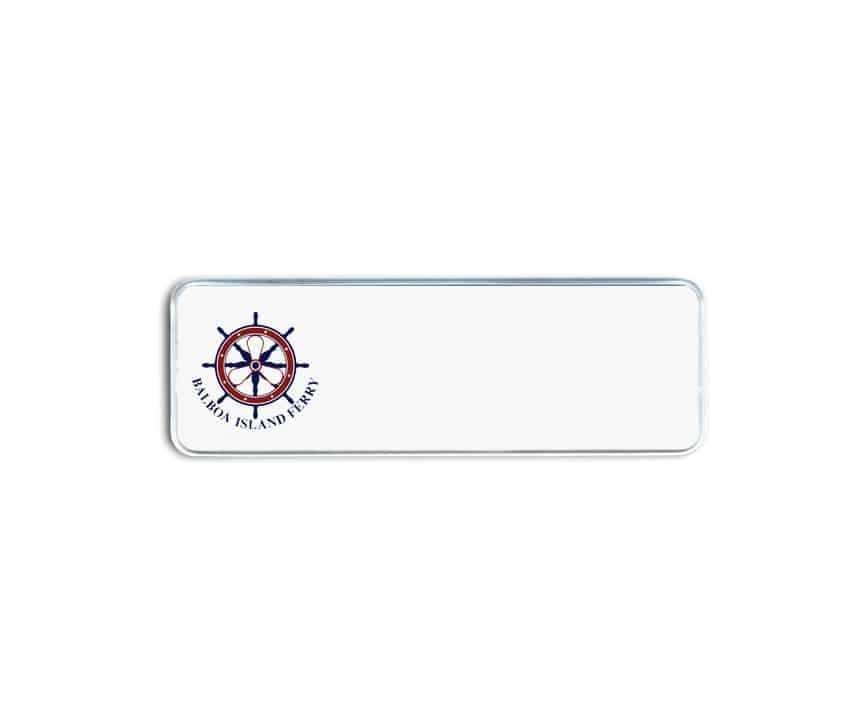 Balboa Island Ferry Name Badges