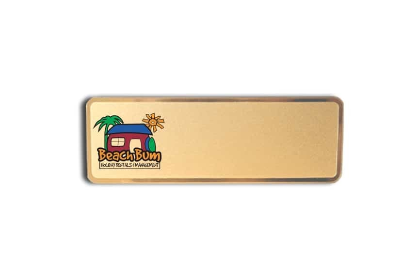 Beach Bum Rentals Name Badges
