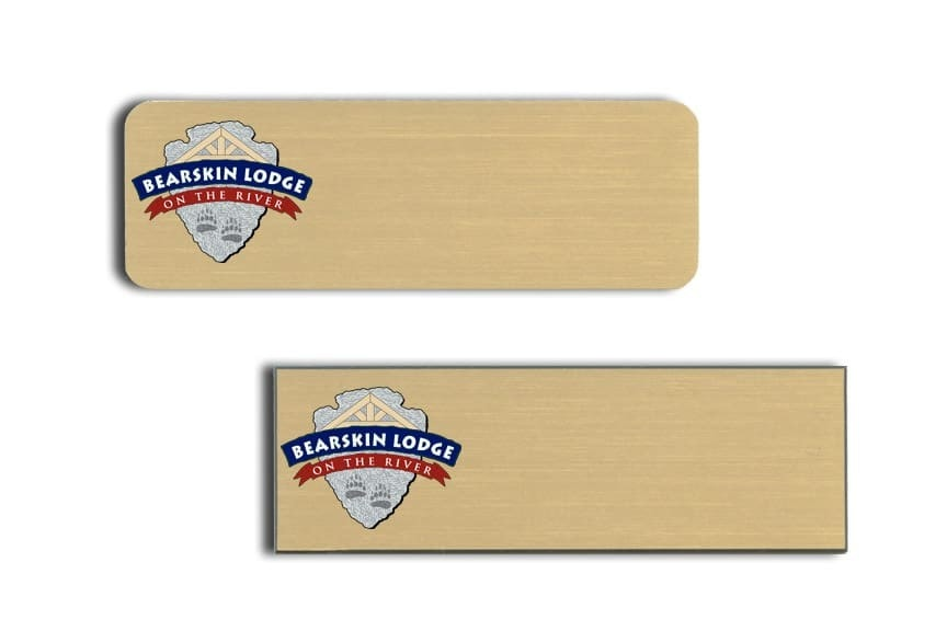 Bearskin Lodge Name Tags Badges