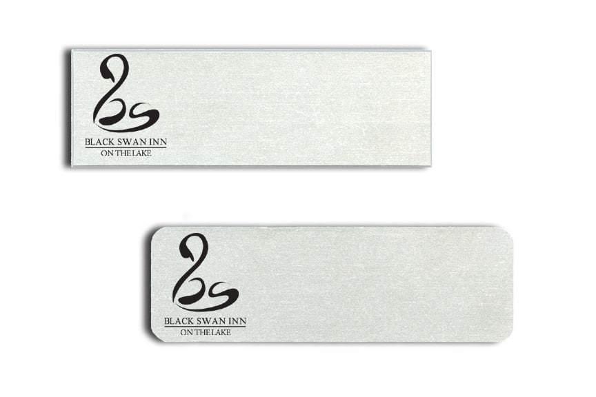 Black Swan Inn Name Tags Badges