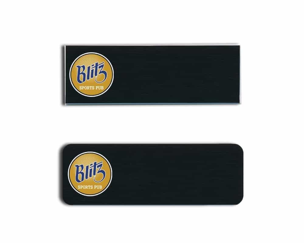 Blitz name badges