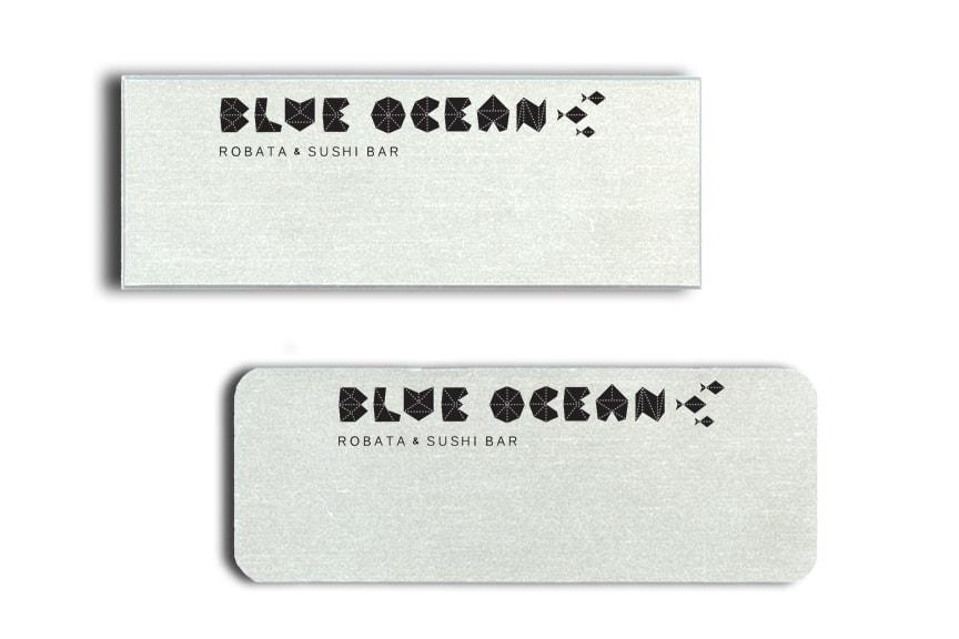 Blue Ocean Sushi Name Badges