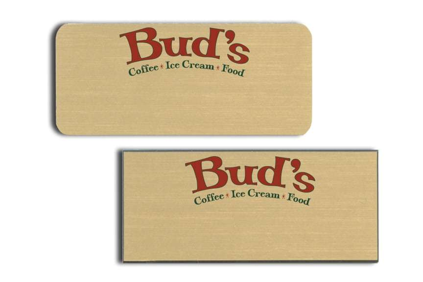 Bud's Name Badges