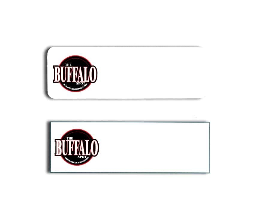 The Buffalo Spot Name Badges